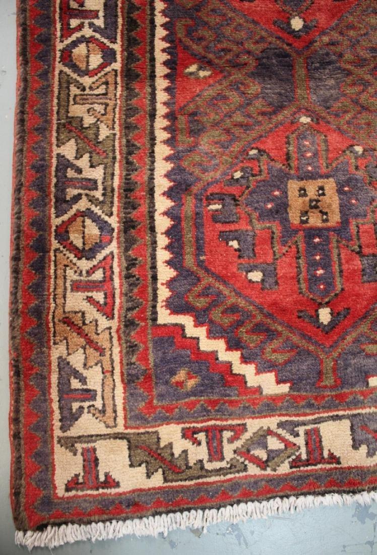 Handmade Semi Antique Persian Heriz 3.4x10.9 - 5