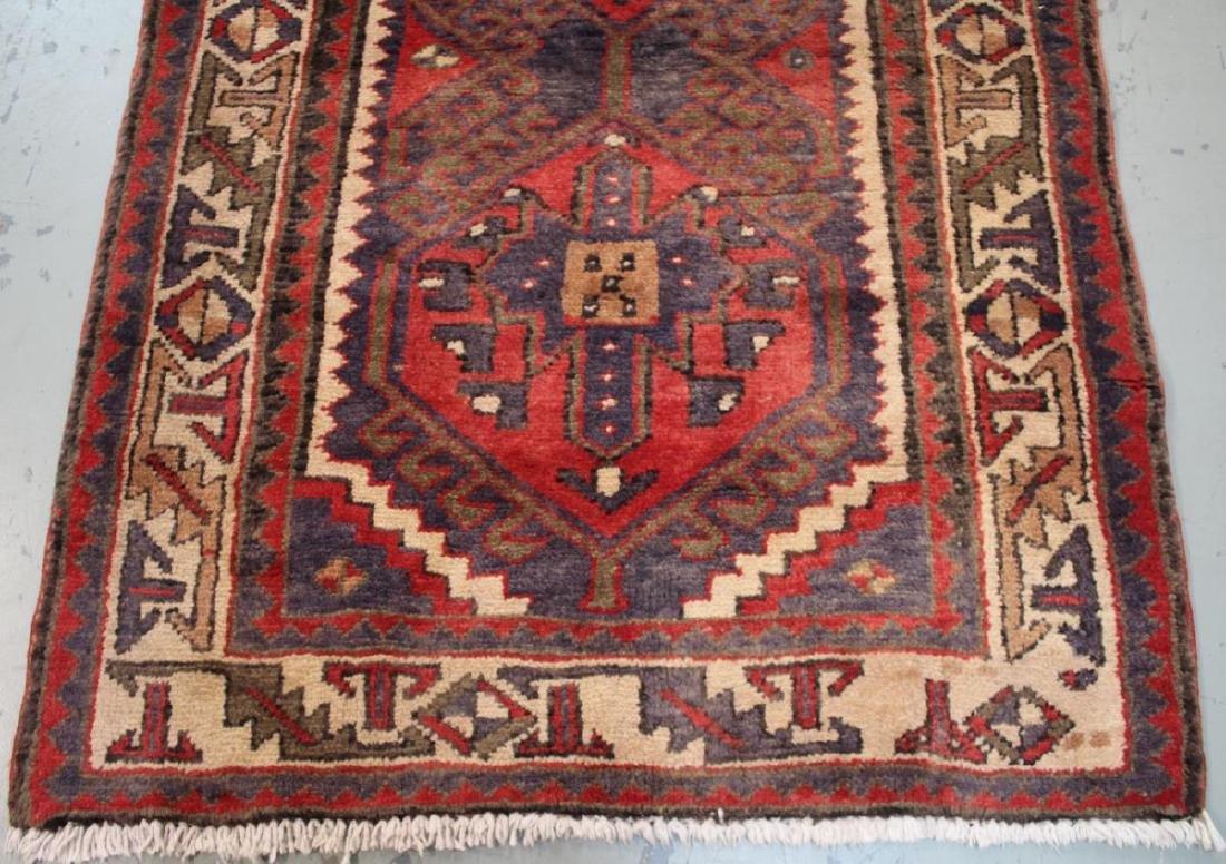 Handmade Semi Antique Persian Heriz 3.4x10.9 - 6