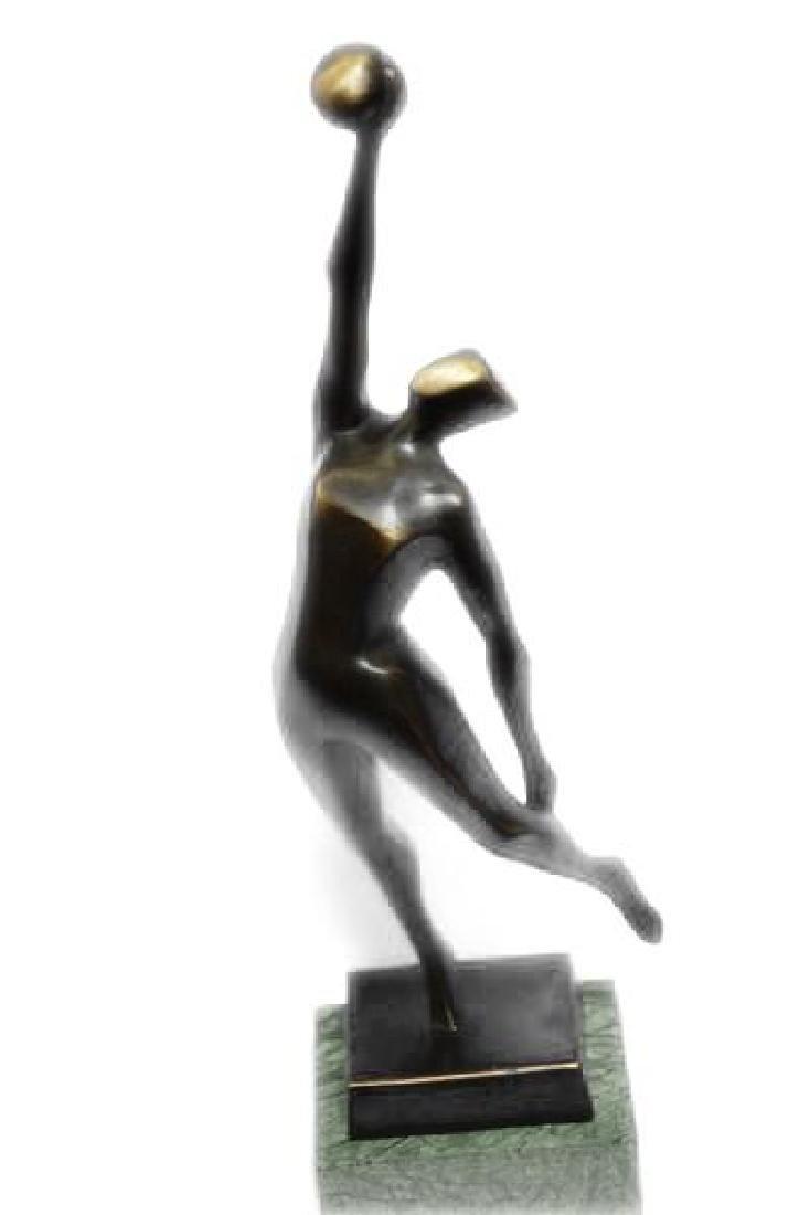 Abstract Modern Art Basketball Player Bronze Sculpture