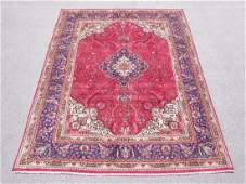 Hand Woven Semi Antique Persian Tabriz 64x98