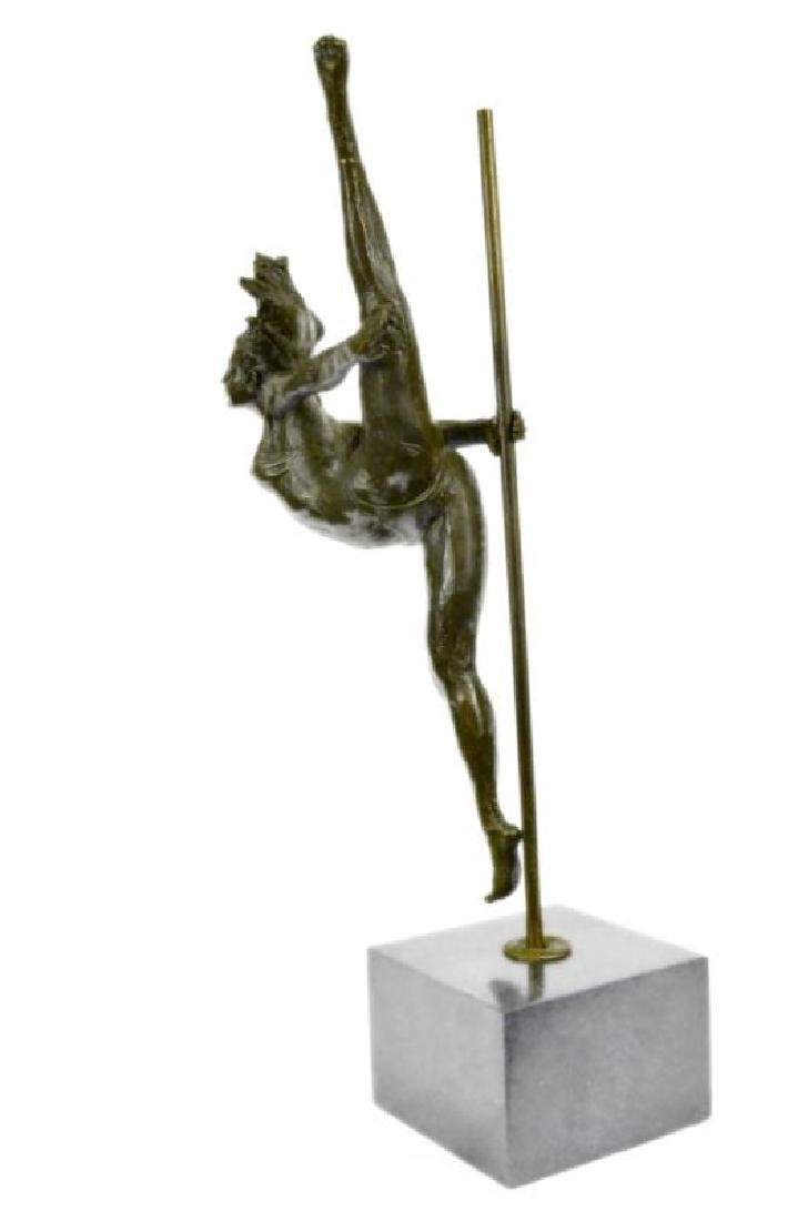 Art Deco Aldo Vitaleh Large Ballerina Dancer Bronze