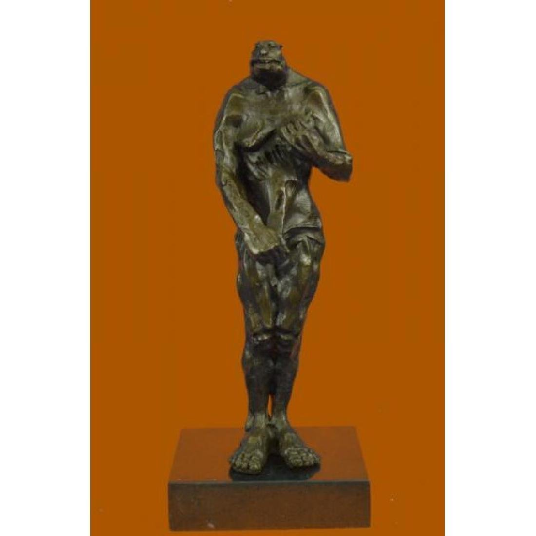 Hot Cast Female Creature Bronze Museum Quality Artwork