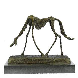 Modern Dog Bronze Sculpture