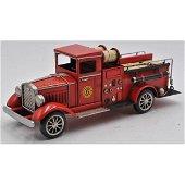 1931 Fire Truck Model Figurine Old Firetruck