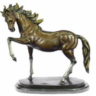 Wild Horse Prance Bronze Sculpture