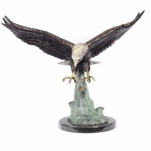 Eagle Bronze Sculpture