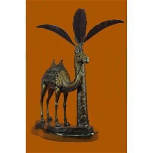 Camel Desert Bronze Statue