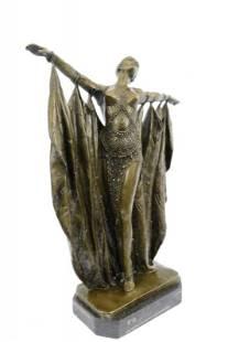 Belly Dancer Bronze Sculpture