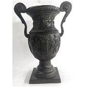 Geek Sun of God Urn Planter Vase Bronze Sculpture