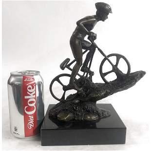 Biking Sport Edition Bicycle Bronze Sculpture