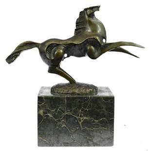 Horse Stallion Bronze Sculpture