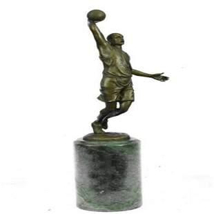 Basketball Bronze Figure
