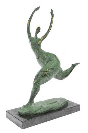 Female Figure Bronze Sculpture