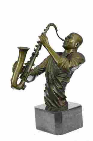 Black African American Trumpet Horn Player Jazz