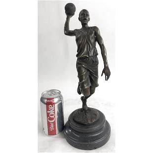 Michael Jordn Tribute Bronze Sculpture