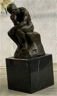 Thinker Bronze Sculpture