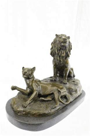 Lion Animal Edition Bronze Sculpture