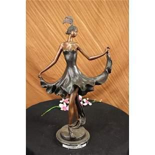 Dancer Bronze Figurine