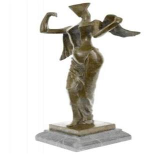 Modern Art Angel Bronze Sculpture