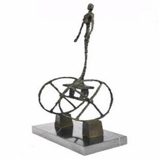 Le Chariot Carts Bronze Sculpture