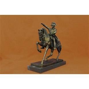 Bronze Sculpture of Napoleon Bonaparte Riding Horse