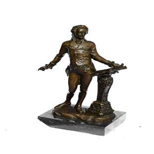Thomas Jefferson Bronze Statue