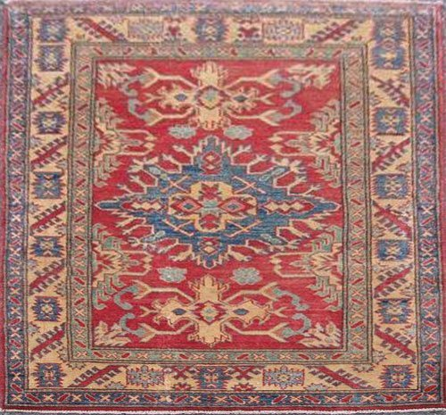 Very rare design Armenian weave fine eagle Kazak rug