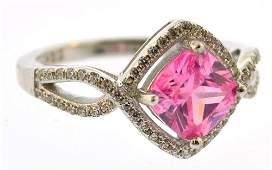 gemstone vintage sterling silver ring