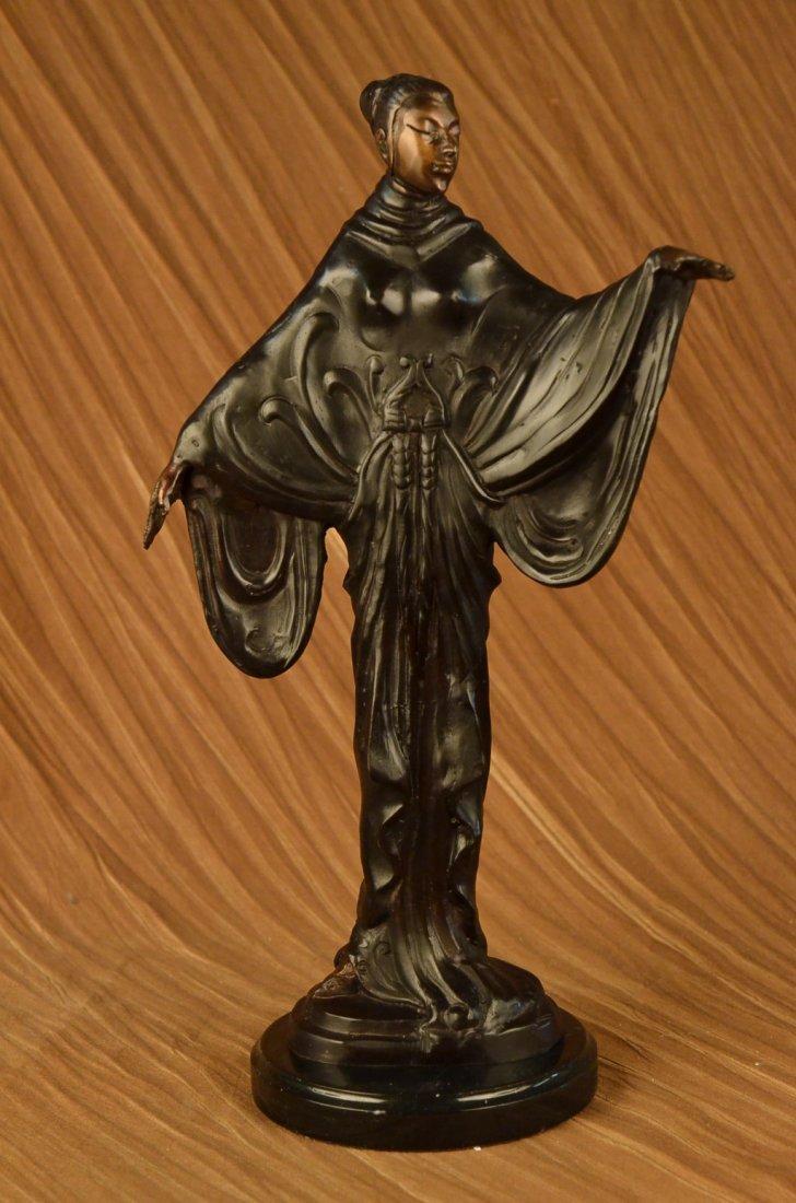 12 LBS Museum Quality Hot Cast Fashion Model Bronze