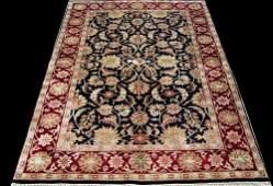 quite gorgeous dark toned mahal rug