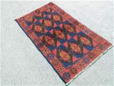 Magnificent semi-antique Persian Balouch Rug