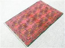 Glorious semi-antique Persian Balouch Rug