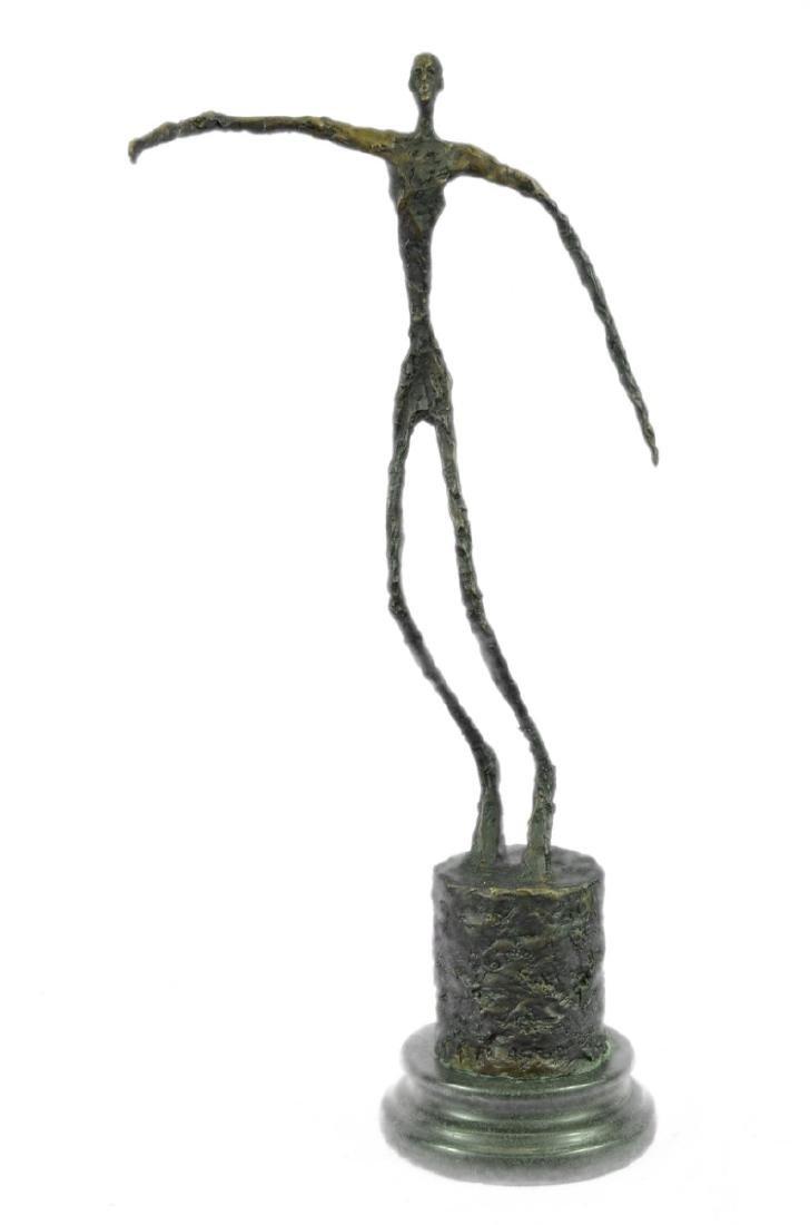 Beautiful Bronze Sculpture on marble base figurine