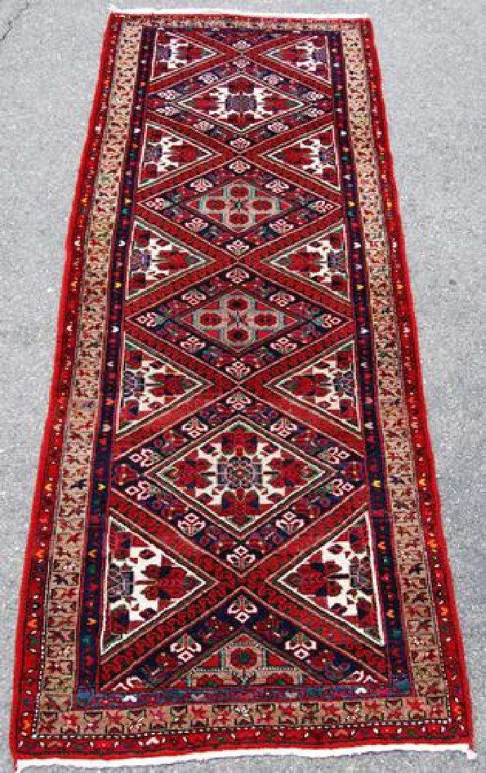 Magnificently Vibrant 11' Persian Karajeh Runner