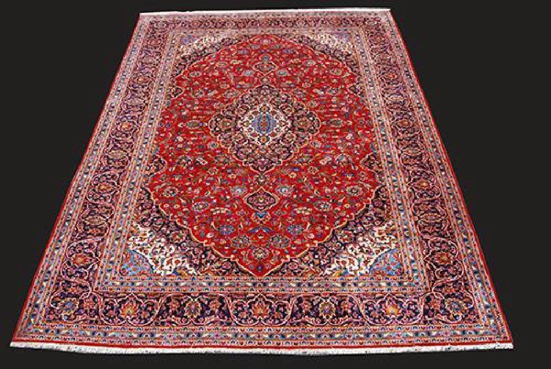 Stunning Hand Woven High Quality Persian Kashan 13.1 X