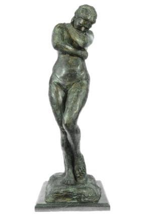 Green Patina Famous Art Work Bronze Statue