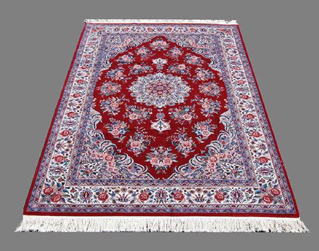 Fascinating 6x9 Sultani Handmade Tabriz Rug