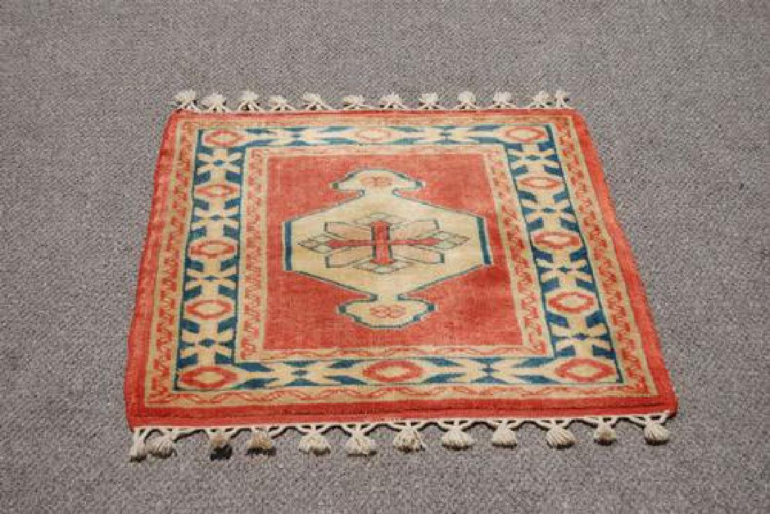 NICE LOOKING HAND MADE TURKISH KONYA RUG - 2