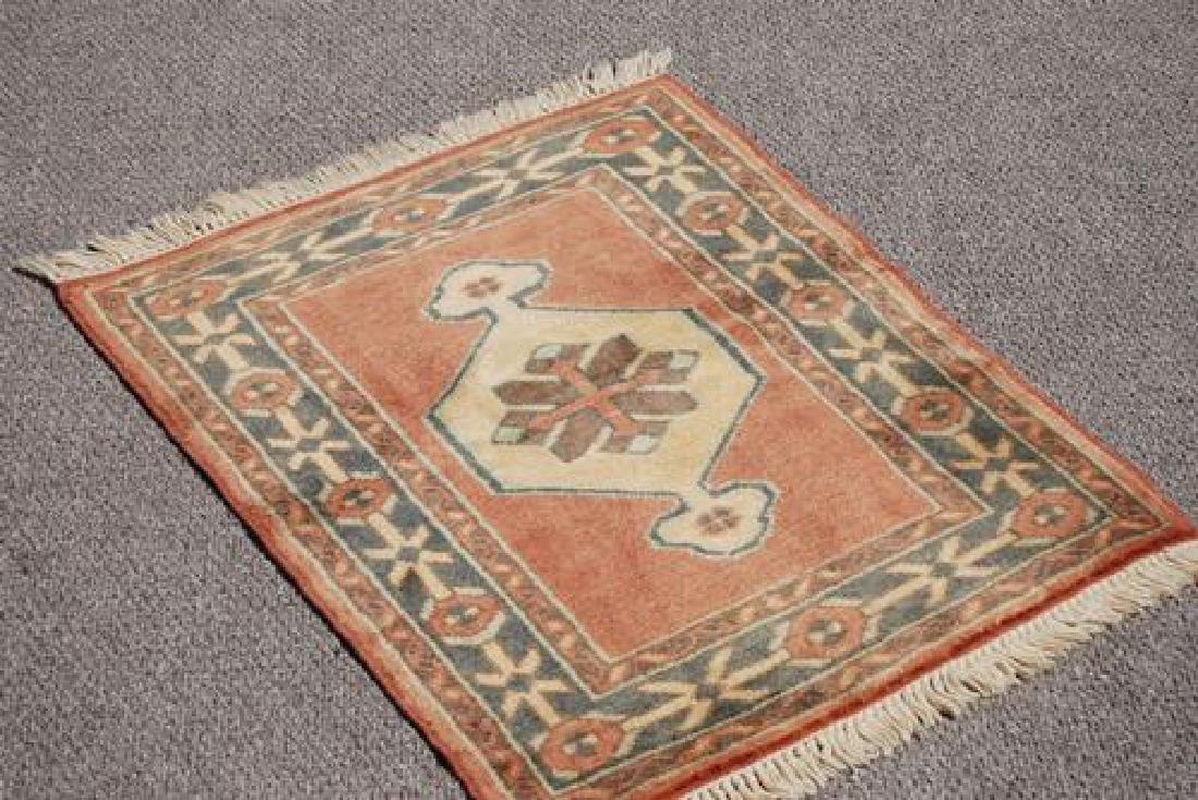 LOVELY NICE COLORS HAND MADE TURKISH RUG