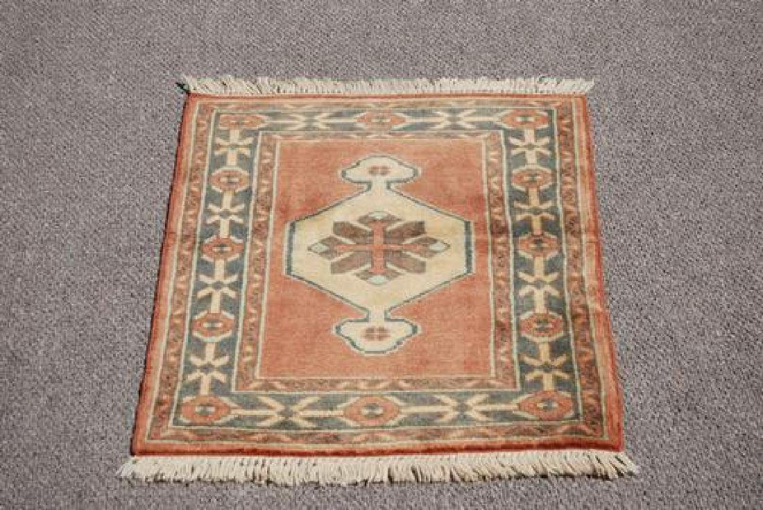 LOVELY NICE COLORS HAND MADE TURKISH RUG - 2