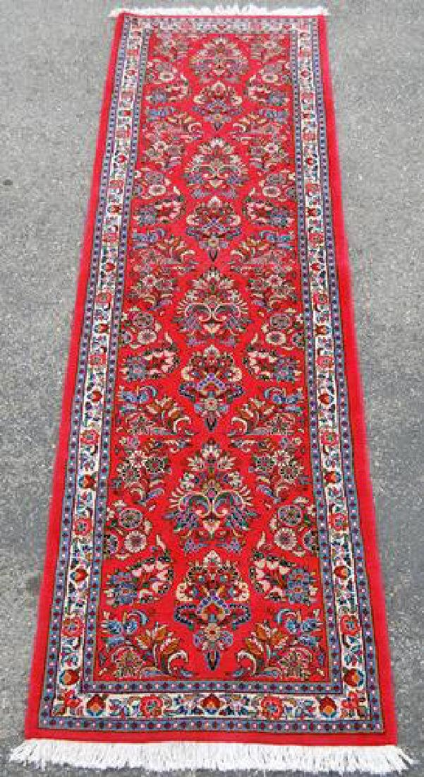 Absolutely Gorgeous Floral Design Persian Sarouk Runner