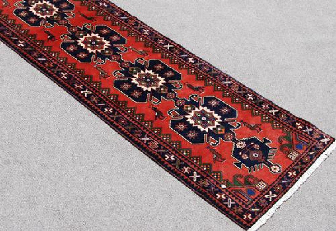 Very Rare Handmade Persian Hamedan Runner
