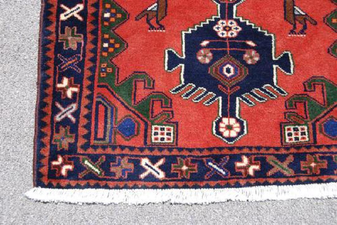 Very Rare Handmade Persian Hamedan Runner - 4