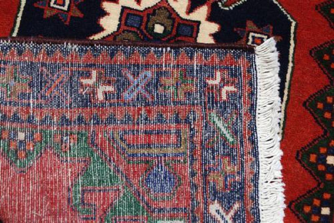 Very Rare Handmade Persian Hamedan Runner - 5
