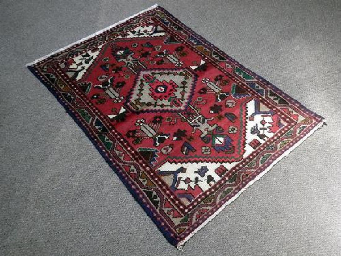 Lovely Hand Woven Fine Quality Persian Hamedan
