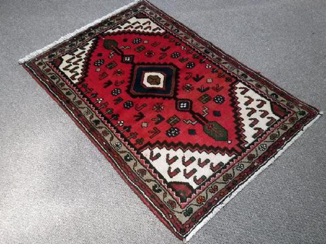 Charming Handmade High Quality Hamedan Rug