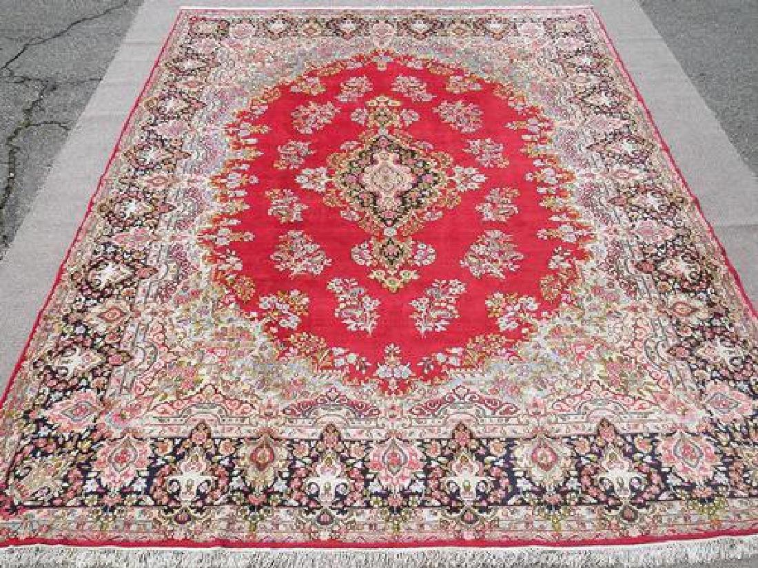 Simply Gorgeous Authentic Handmade Persian Kerman Rug