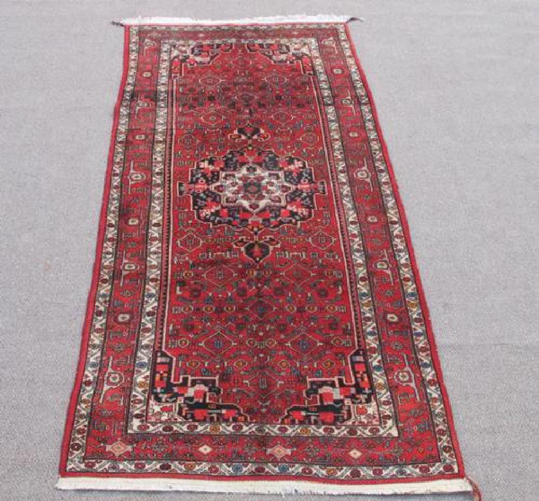 Simply Stunning Handmade Semi Antique Persian Bordjalou