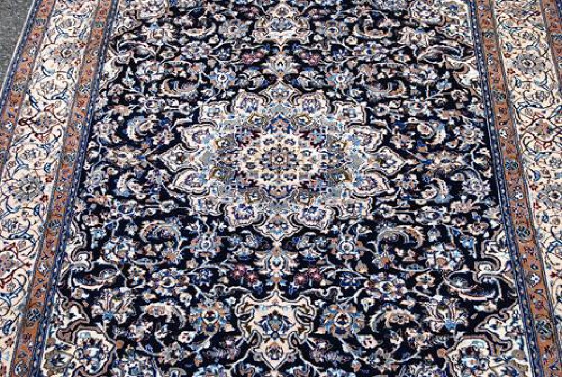 Simply Gorgeous Dark Toned Persian Nain With Silk - 2