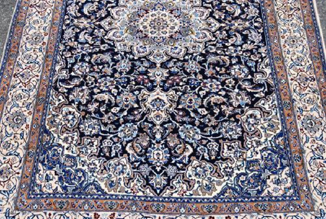 Simply Gorgeous Dark Toned Persian Nain With Silk - 3